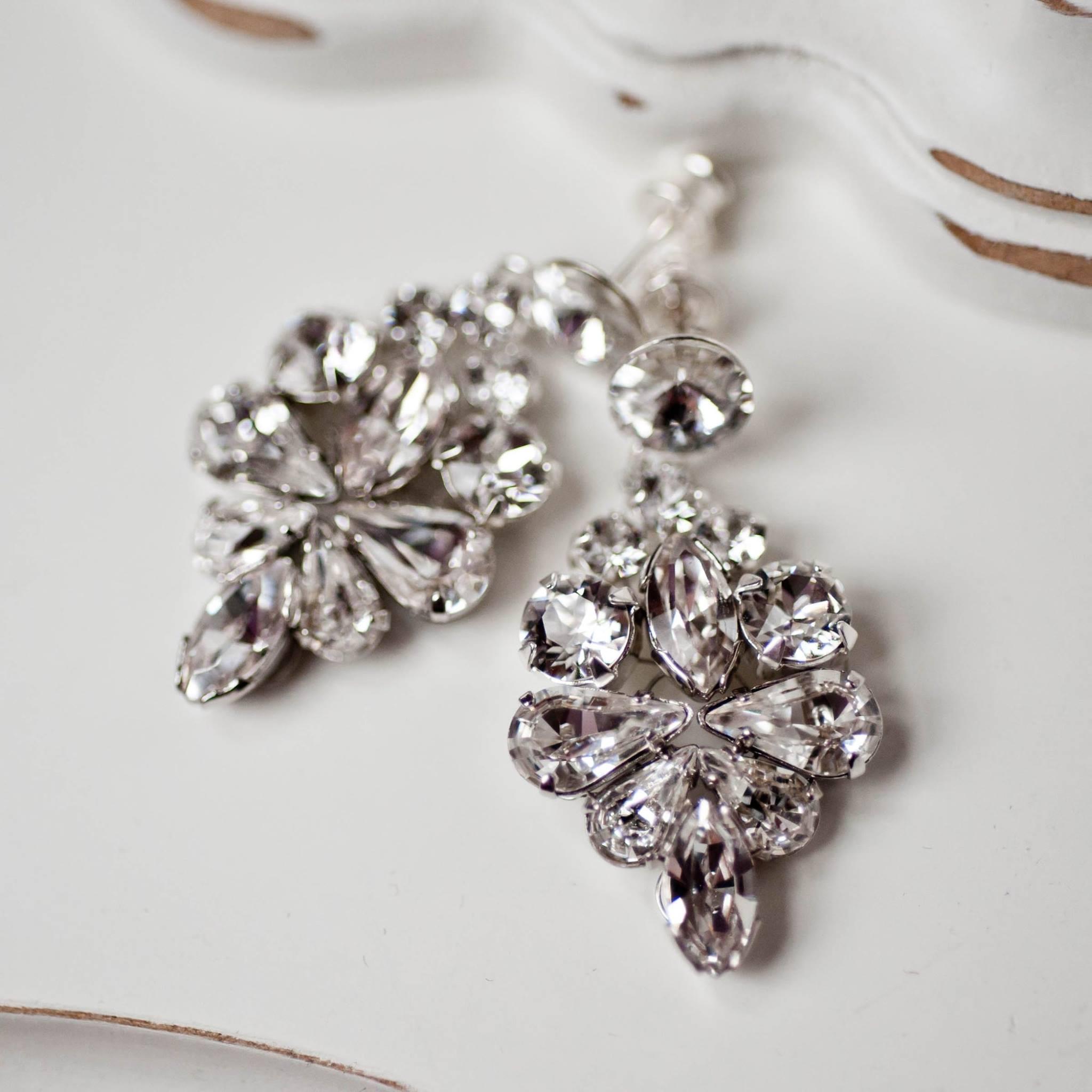 Kolczyki REINE silver