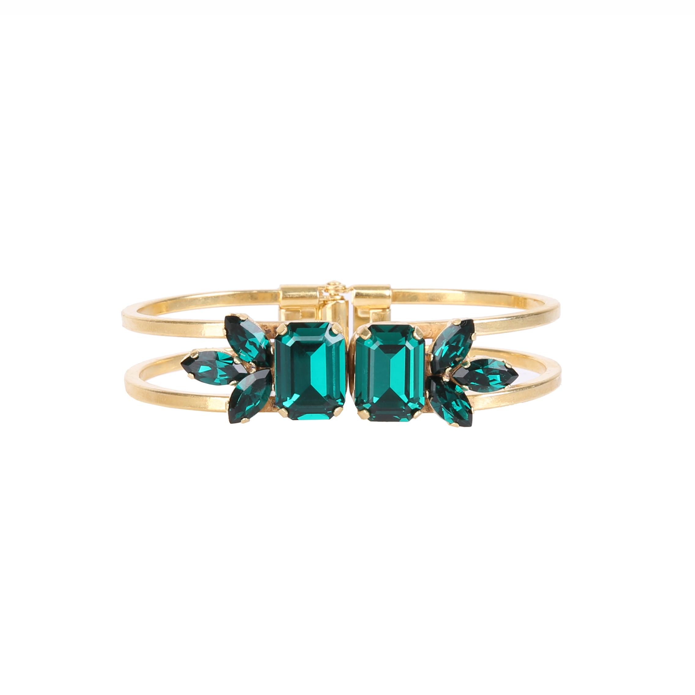 Bransoleta MAIO emerald