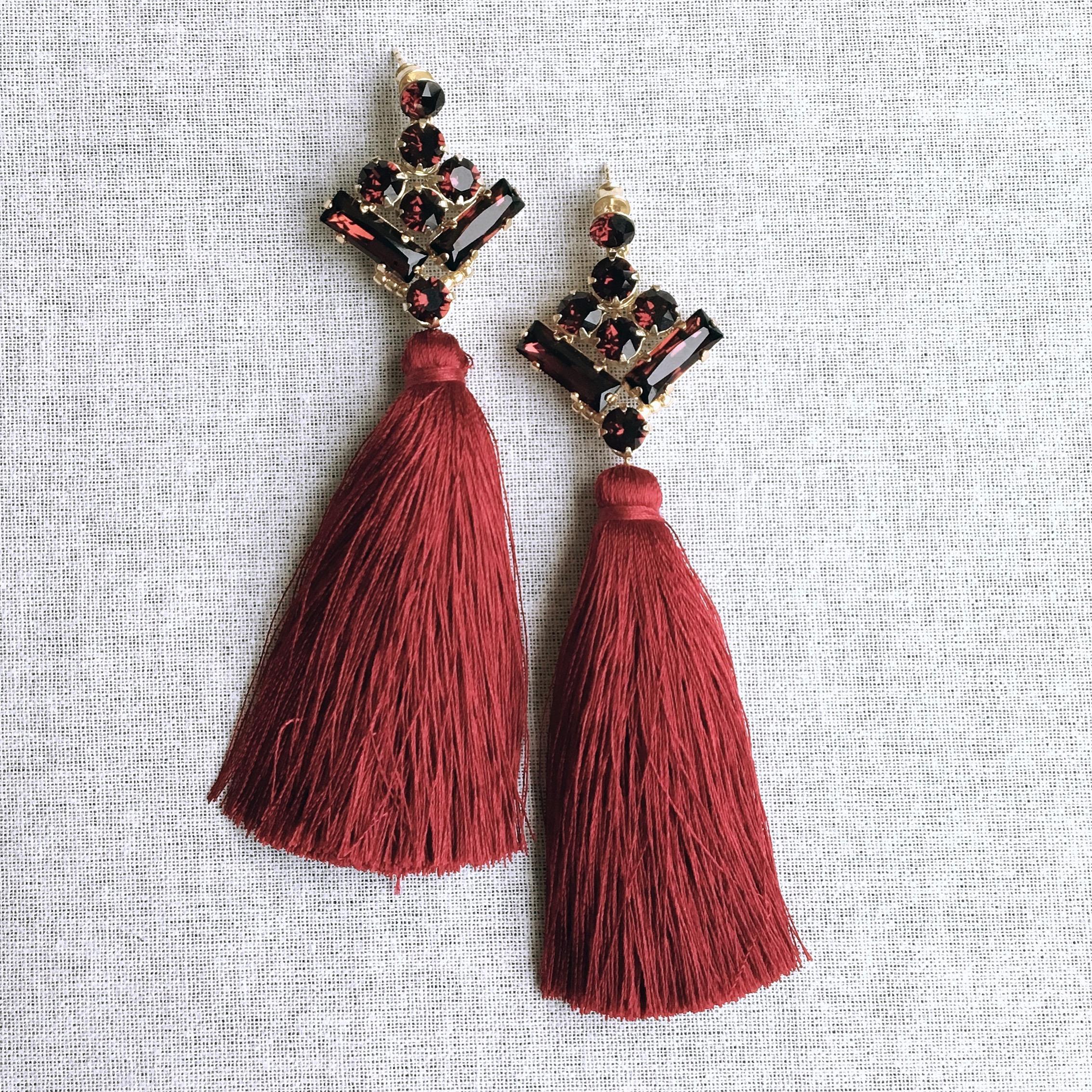 Kolczyki INCA tassel
